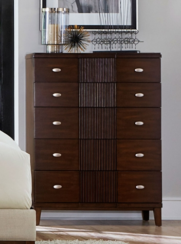 Pelmar Chest - Dark Walnut
