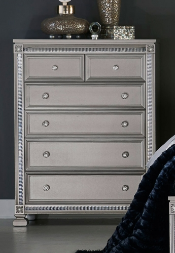Bevelle Chest - Silver