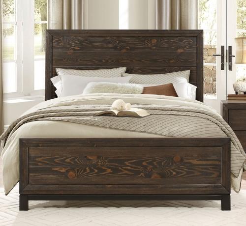 Branton Bed - Antique Brown
