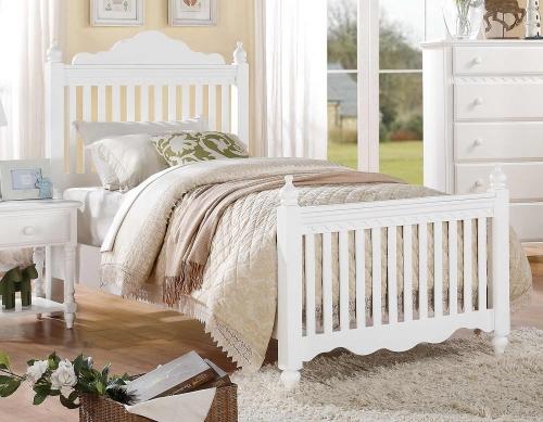 Emmaline Bed - White
