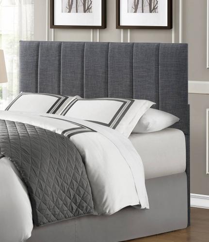 Portrero Upholstered Headboard - Grey