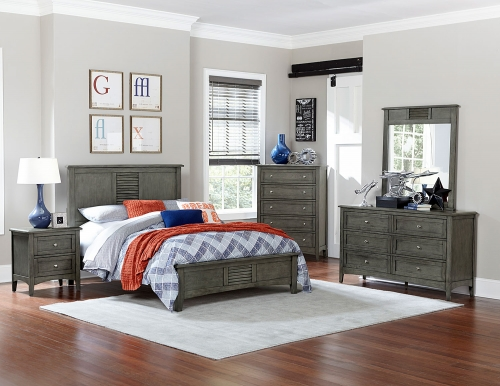 Garcia Bedroom Set - Gray