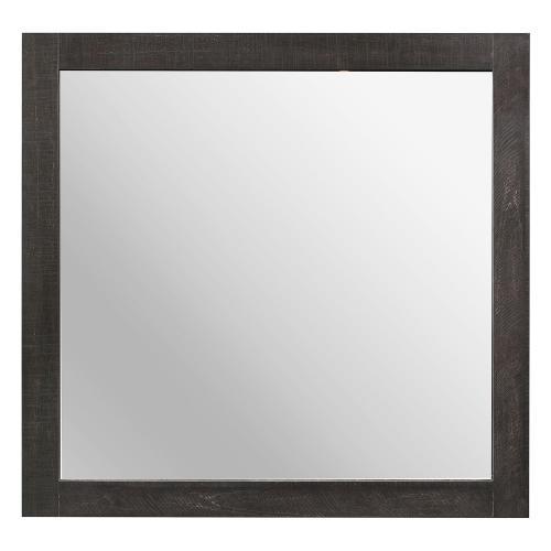 Cooper Mirror - Wire-brushed multi-tone