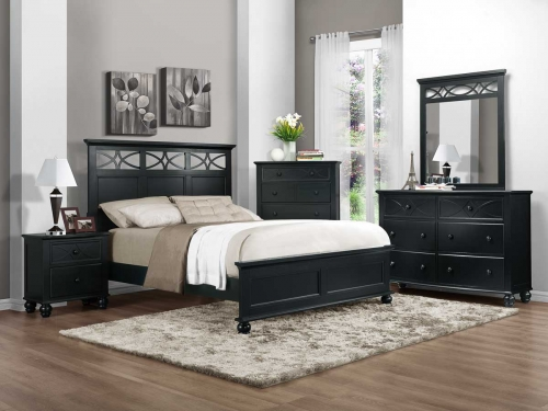 Sanibel Bedroom Set - Black