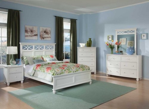BW Bed Set Sanibel Bedroom Set 1557