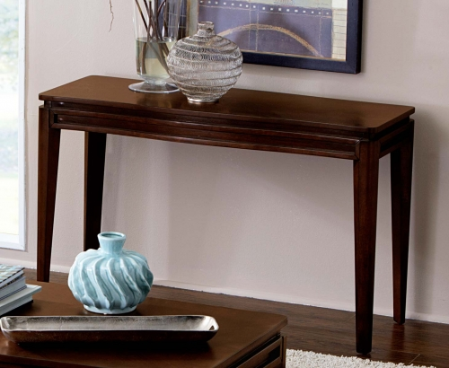 Kasler Sofa Table - Medium Walnut