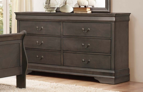 Homelegance Mayville Dresser - Stained Grey