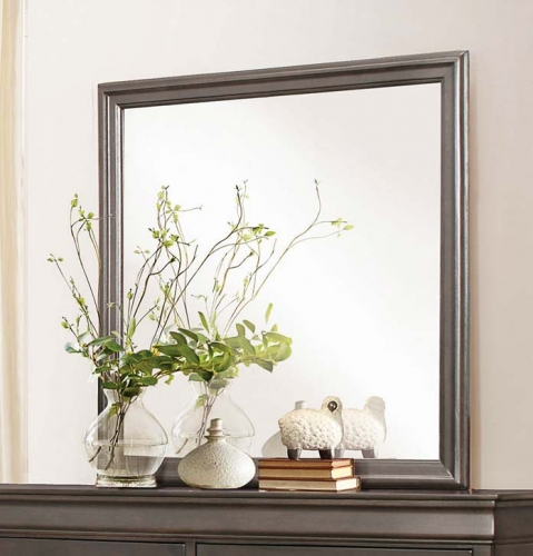 Homelegance Mayville Mirror - Stained Grey