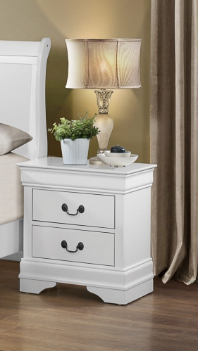 Homelegance Mayville Night Stand - White