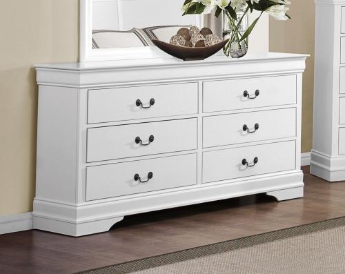 Mayville Dresser - White
