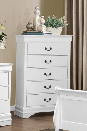 Mayville Chest - White