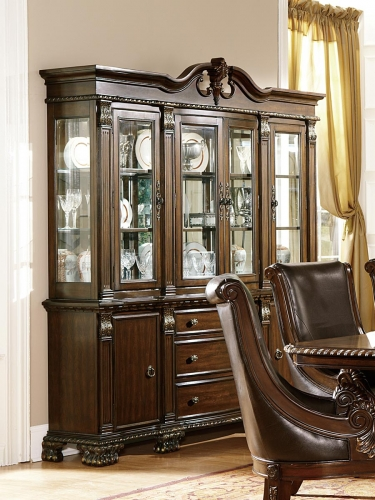 Orleans China Cabinet - Cherry