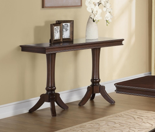 Marston Sofa Table - Dark Cherry