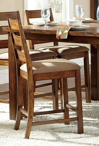 Ronan Counter Height Chair - Beige Fabric