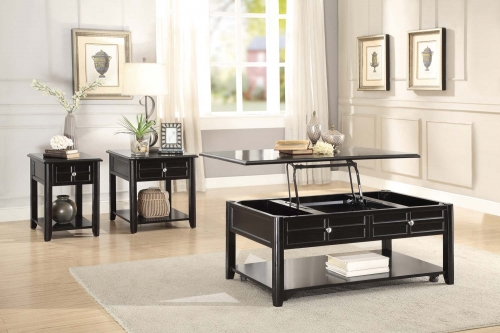 Carrier Cocktail/Coffee Table Set - Dark Espresso