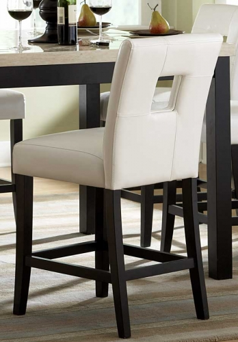 Archstone S1 Counter Height Chair - White