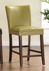 Belvedere Counter Height Dining Chair - Chartreuse Yellow