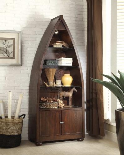 Hatchett Lake Bookcase - Brown