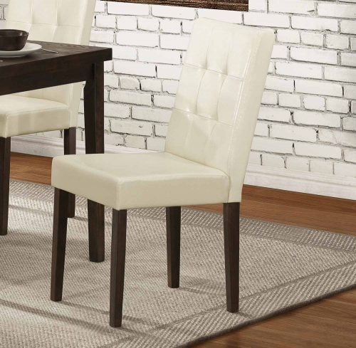 Ahmet Side Chair - Espresso