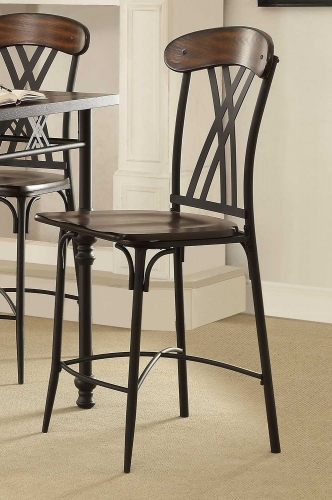 Loyalton Counter Height Chair - Wood/Metal