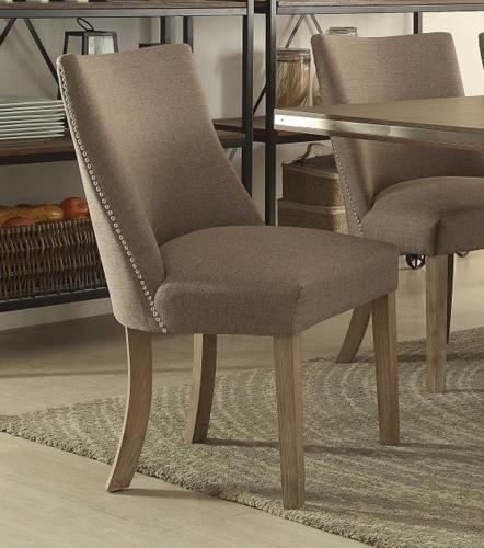 Homelegance Beaugrand Side Chair - Brown