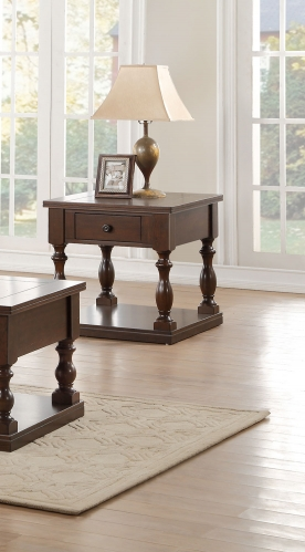 Reid End Table with Functional Drawer
