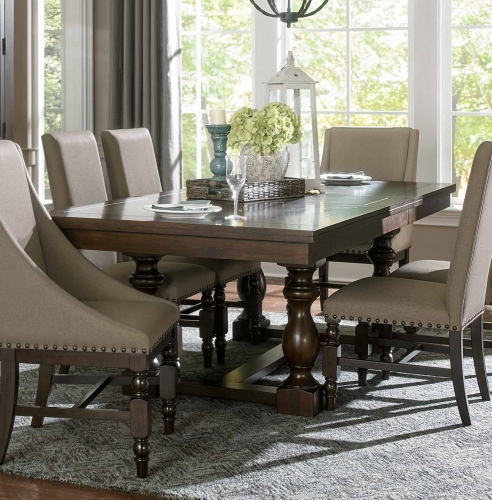 Reid Rectangular Dining Table with Leaf - Cherry