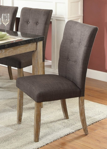 Huron Side Chair - Weathered Wood