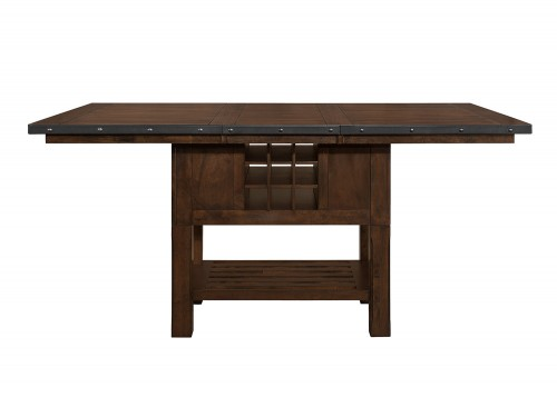 Schleiger Counter Height DiningTable - Dark Brown