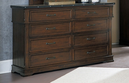 Schleiger Dresser - Burnished Brown