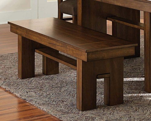 Sedley 58-inch Bench - Walnut