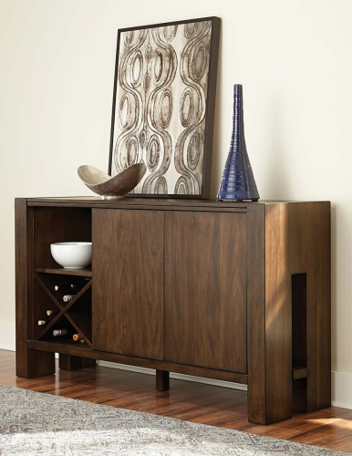 Homelegance Sedley Server - Walnut