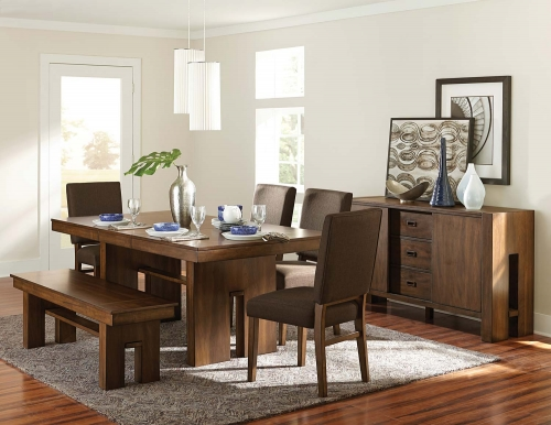 Sedley Dining Set - Walnut