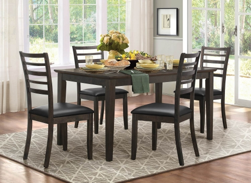 Cabrillo Dining Set - Grey/Brown