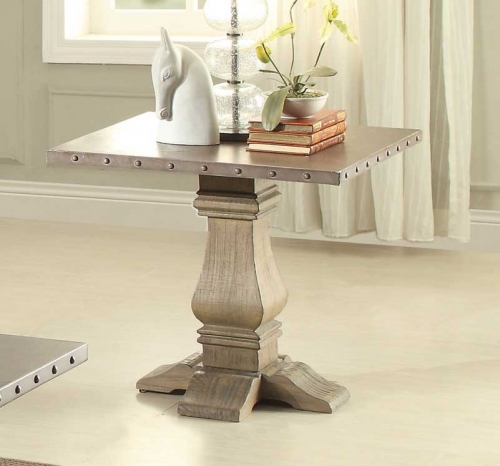 Anna Claire End Table - Driftwood