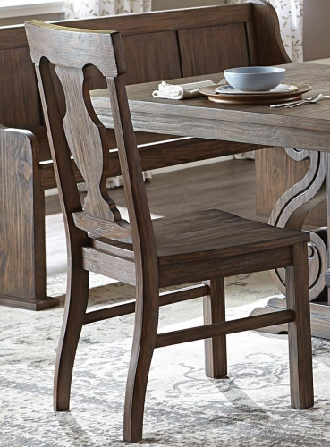 Homelegance Toulon Side Chair - Wire Brushed