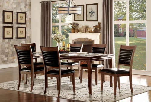 Catalina Dining Set - Warm Oak