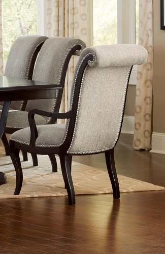 Savion Arm Chair - Espresso