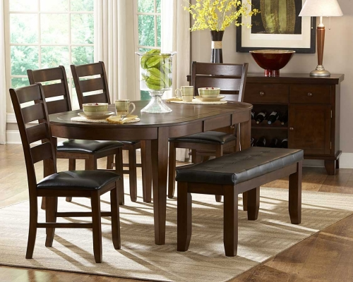 Ameillia Oval Dining Set