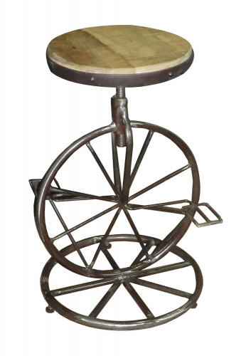 Amara Iron Counter Height Stool