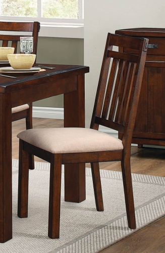Santos Side Chair - Natural Brown
