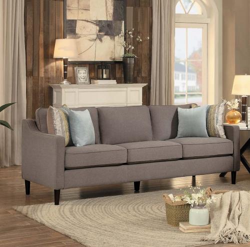 Lotte Sofa - Brown Fabric