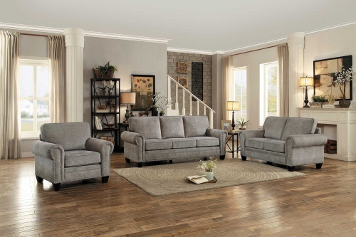 Cornelia Sofa Set - Sand Fabric