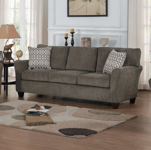 Homelegance Alain Sofa - Gray Fabric
