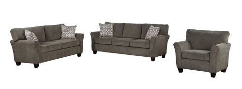 Homelegance Alain Sofa Set - Gray Fabric