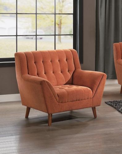 Erath Chair - Orange Fabric