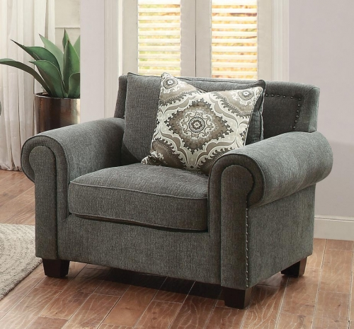 Hooke Chair - Polyester - Grey