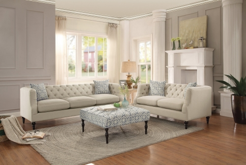 Radley Sofa Set - Hemp Blend - Beige