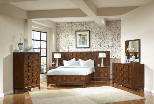 BPLC BED SET Campton Platform Bedroom Set 1557