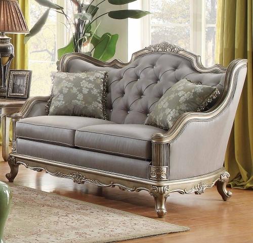 Fiorella Love Seat - Dusky Taupe